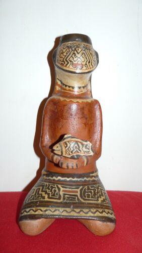 OLDER SHIPIBO PERU AMAZON INDIAN FEMALE POT