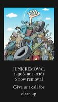 Junk mover, snow removal