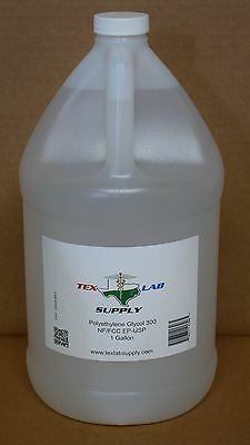 Tex Lab Supply Polyethylene Glycol 300 Peg 300 Nf-fccep-usp 1 Gallon