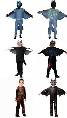 Drachenzähmen leicht gemacht  3 DIE GEHEIME WELT Lightfury Hiccup - Leicht Gemacht Kostüm