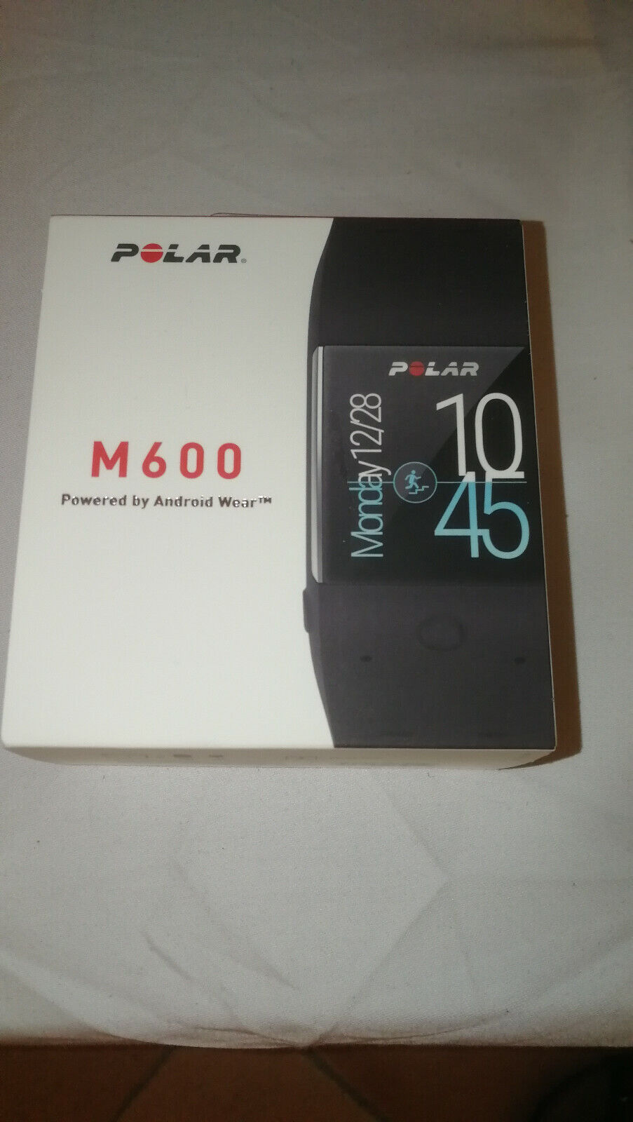 Polar M600 GPS Sportuhr SmartWatch Android Wear schwarz