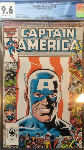 Captain America #323 CGC 9.6 First John Walker/Super Patriot