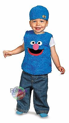 New Sesame Street Grover Toddler Suit Outfit Halloween - Grover Costume Toddler