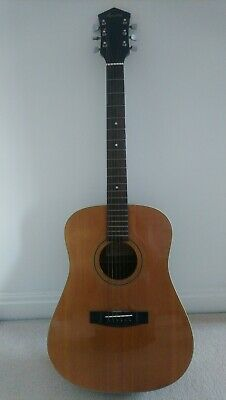 Vintage Harmony Acoustic Guitar Full Size H6850N Rare 1970s