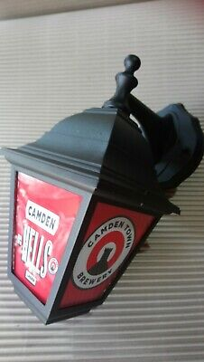 Camden Hells Brewery Light Bar Pub Lantern Man Cave Lamp  for sale  Mansfield