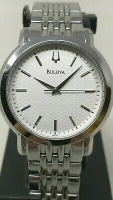 Bulova Quartz Stainless Steel Watch Model C835252 Silver