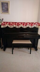 Yamaha U1A acoustic upright piano in excellent condition
