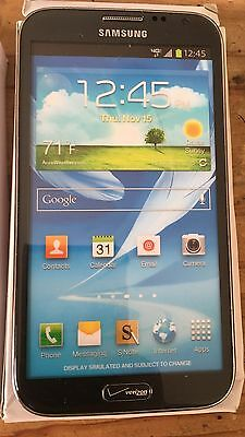 (1) Samsung Galaxy Note II VERIZON Black Mock Up Display Phone NON-FUNCTIONING
