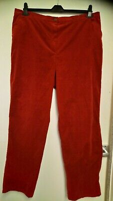 Ladies Size 24 (52) Fine Needlecord Stretch Jeans... Free P&P!!