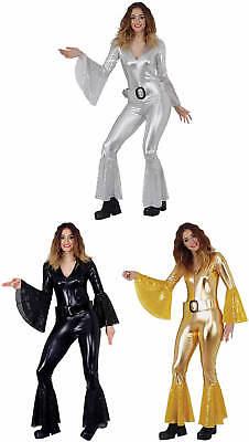 Sexy Disco Overall Einteiler 70er Jahre Karneval Fasching Kostüm - Sexy Disco Kostüm