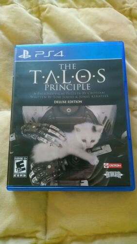 PS4 The Talos Principle Game USED Sony Playstation 4 - $30.00