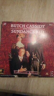 Butch cassidy and the sundance kid Laserdisc