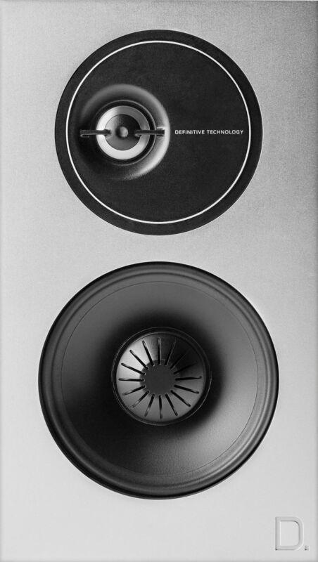 Definitive Technology Demand Passive 2-Way Bookshelf Speakers (Pair) Piano Black DEMAND D7 BLACK