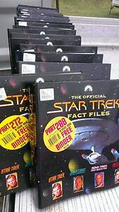 THE OFFICIAL STAR TREK FACT FILES -  ISSUES 1 TO 302 (IN BINDERS) Emu Vale Southern Downs Preview