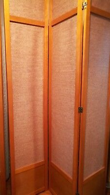Oriental Furniture Jute Fiber Shoji Screen Room Divider  -- 7 Feet (84 Inch) - Oriental Screen