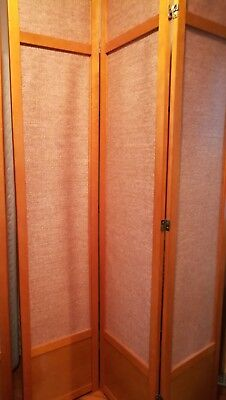 Oriental Furniture Jute Fiber Shoji Screen Room Divider  -- 7 Feet (84 Inch)](Oriental Screen)