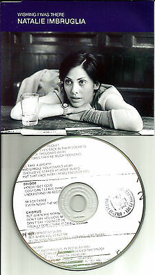 Natalie Imbruglia Wishing I Was There W  Edit Europe Made Promo Dj Cd Single