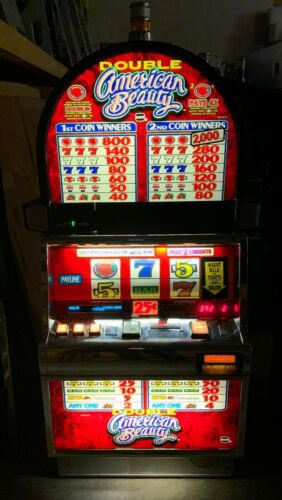 IGT Double American Beauty Slot Machine For Sale