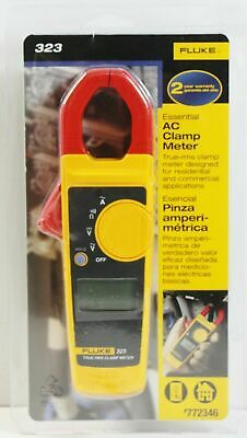 Fluke 323 True-rms Essential Ac Clamp Meter New Sealed
