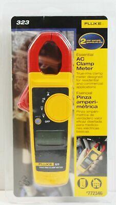 Fluke 323 True-rms Essential Ac Clamp Meter New Sealed