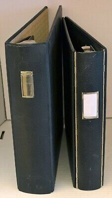 A Vintage Boorum Pease And A National 3-ring Industrial Binder - Quality
