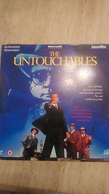 The Untouchables Pal Laserdisc
