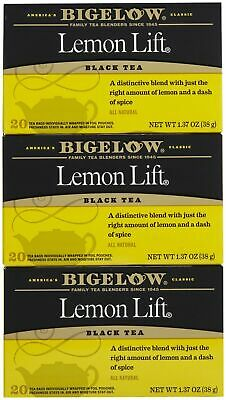 Bigelow® Lemon Lift® Black Tea Bags 20 ct Box