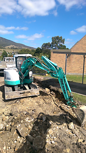 IHI excavator Eggs And Bacon Bay Huon Valley Preview