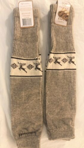 LEG WARMERS, 100% SHEEP WOOL