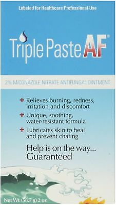 Triple Paste AF Antifungal Nitrate Medicated Ointment 2 oz (Pack of 4)