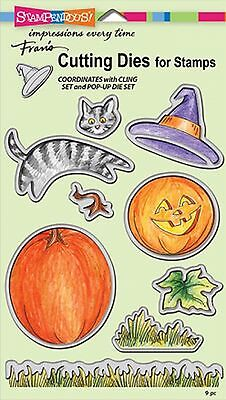 Halloween And Autumn Set, High Quality Steel Die Set STAMPENDOUS - NEW, DCS5078](Halloween And Fall Crafts)