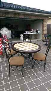 Dining table with Mable tiles Elderslie Camden Area Preview