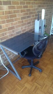 Office Works Desk and Chair Killarney Heights Warringah Area Preview