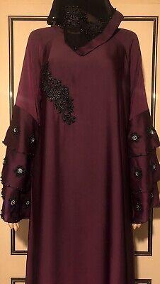 jalabiya maxi dress abaya jilbab farasha kaftan Size 54/55