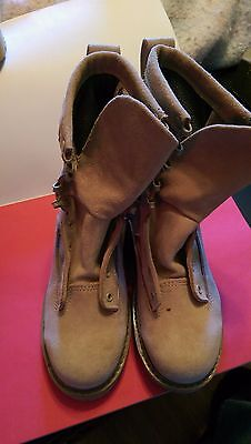 BATES, BOOTS COLD WEATHER GORETEX, DESERT TAN, SIZE 5  - WIDE, NEW.