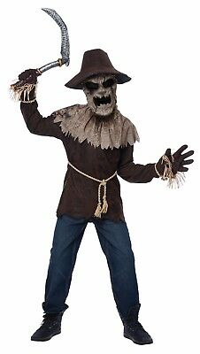 Wicked Scarecrow Child Halloween Boys - Wicked Scarecrow Costume
