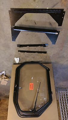 New Cab Door Enclosure Kit For Caterpillar 216226236246252262 Skid Steer