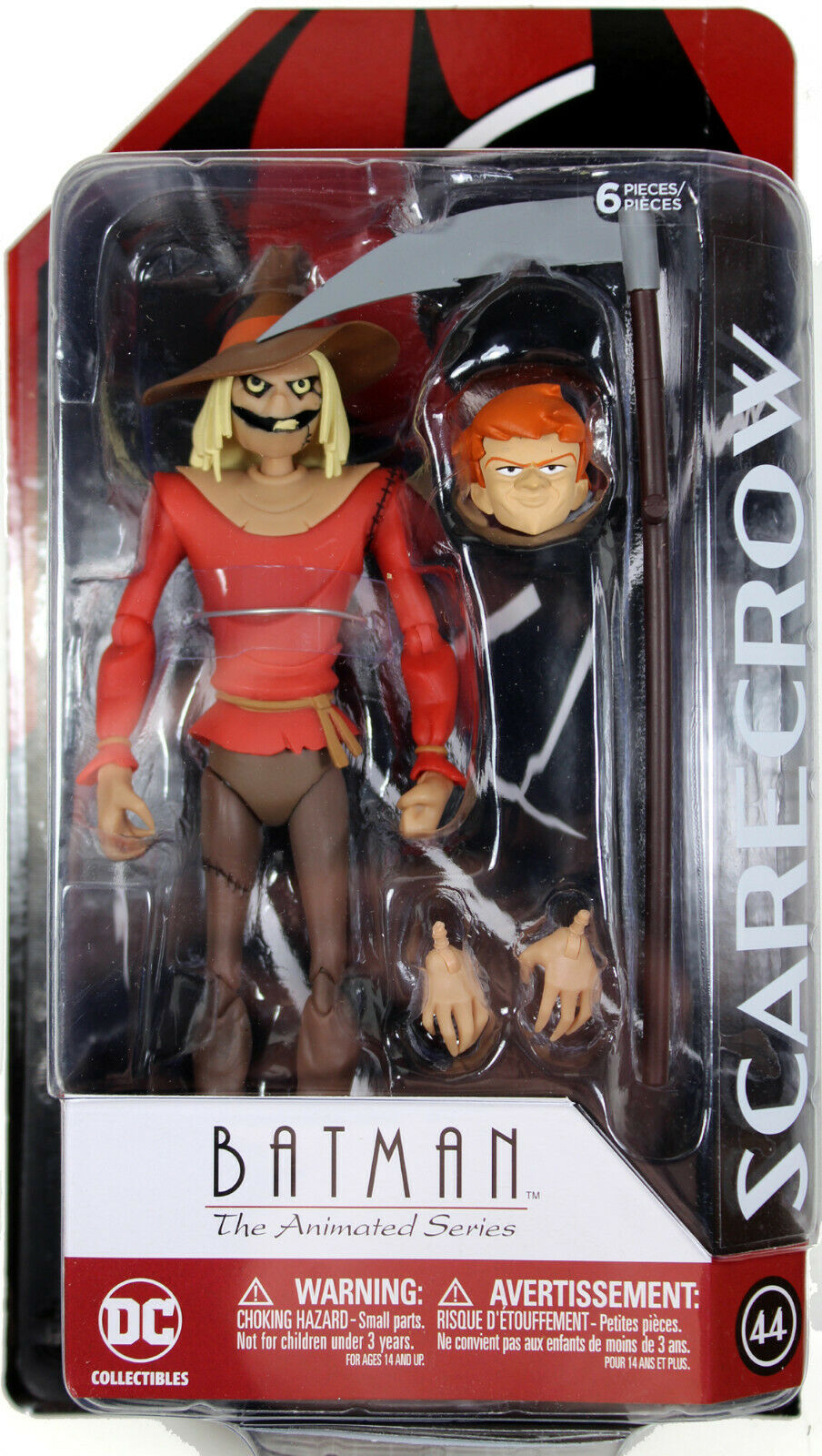 DC Collectibles Batman The Animated Series: Scarecrow Action