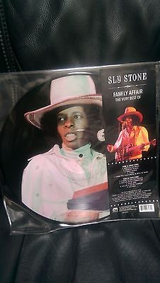 SLY STONE - Family Affair The Very Best Of LP Picture Disc Dance to the Music