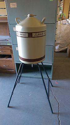 Egg Ortec Liquid Nitrogen Dewar Tank Spectrometer