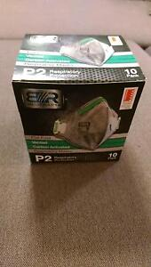 Blue Rapta P2 Carbon Activated Disposable Respirator As New 9 pcs Rosebery Inner Sydney Preview