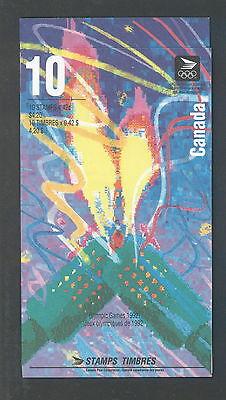Canada 1992 Winter Olympics # 1403 B Booklet BK144 MNH