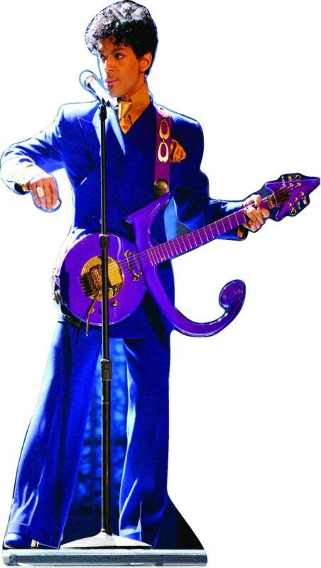 "Prince - Purple 63"" Tall Life Size Cardboard Cutout Standee"