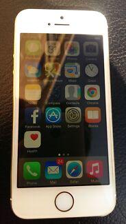 I phone 5s gold 32gb Lidcombe Auburn Area Preview