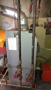 hot water furnace and oil fired hot water heater