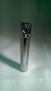 Hadson Lighter -  Carrie, Satin Silver slimline diamante lighter  - Ideal Gift