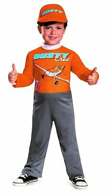 Dusty Crophopper Halloween Costume (New Disney Cars Planes Dusty Crophopper Toddler Costume Small)
