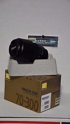 Black Friday Deals Sale70-300 Nikon Af Zoom Nikkor 70-300mm f/4-5.6G Lens + Hood