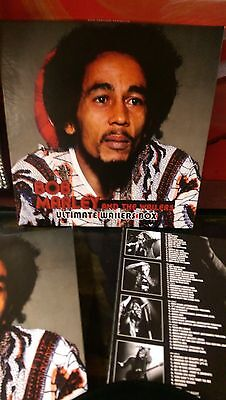 BOB MARLEY and The WAILERS - Ultimate Wailers Box 5 LP Set + Book & Cards (Bob Marley And The Wailers Box Set)