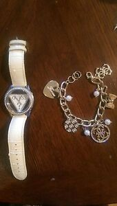 Guess Watch and Bracelet